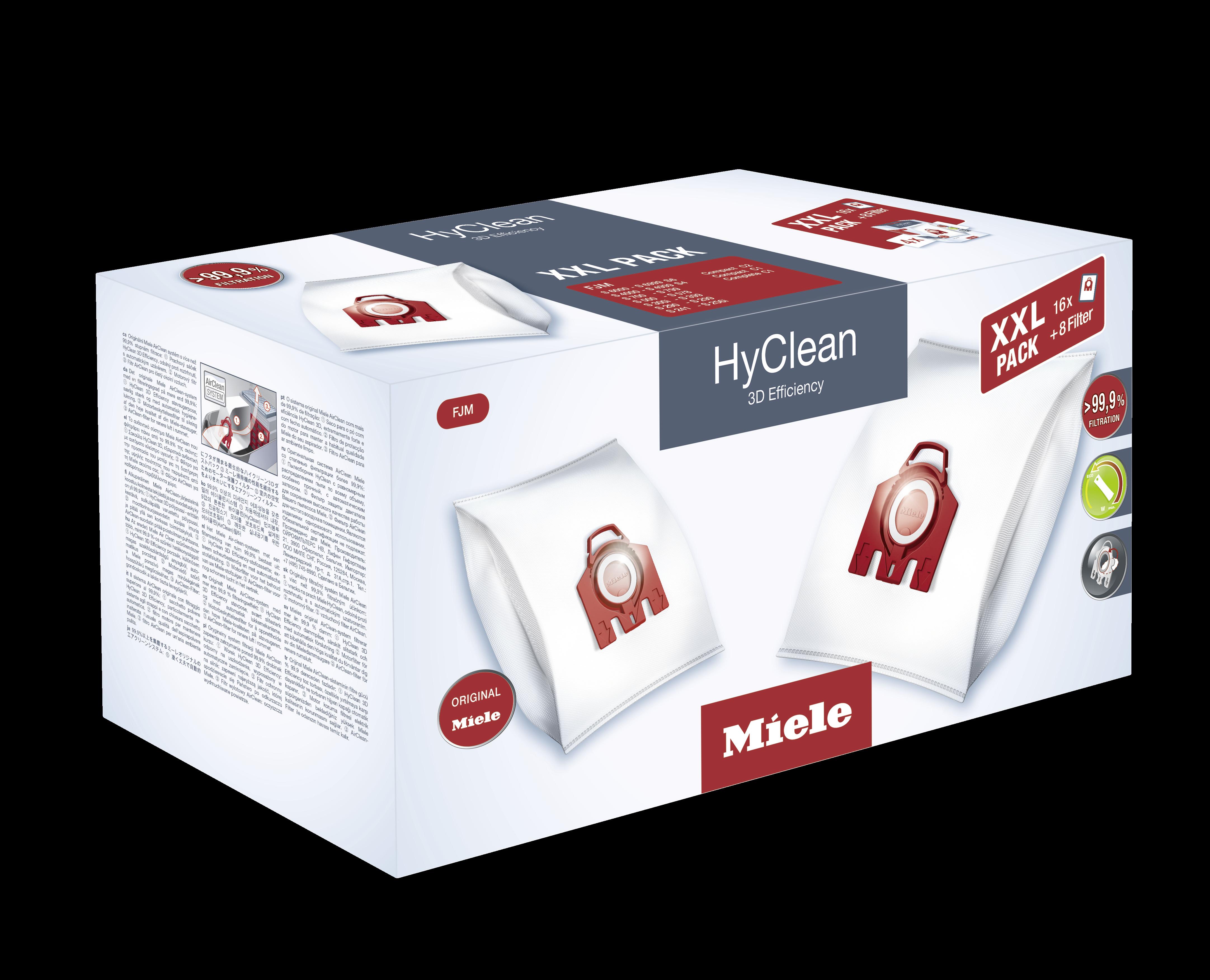 Original MIELE Maxipack Hyclean FMJ 3d pour miele s 6210 premium-Edition