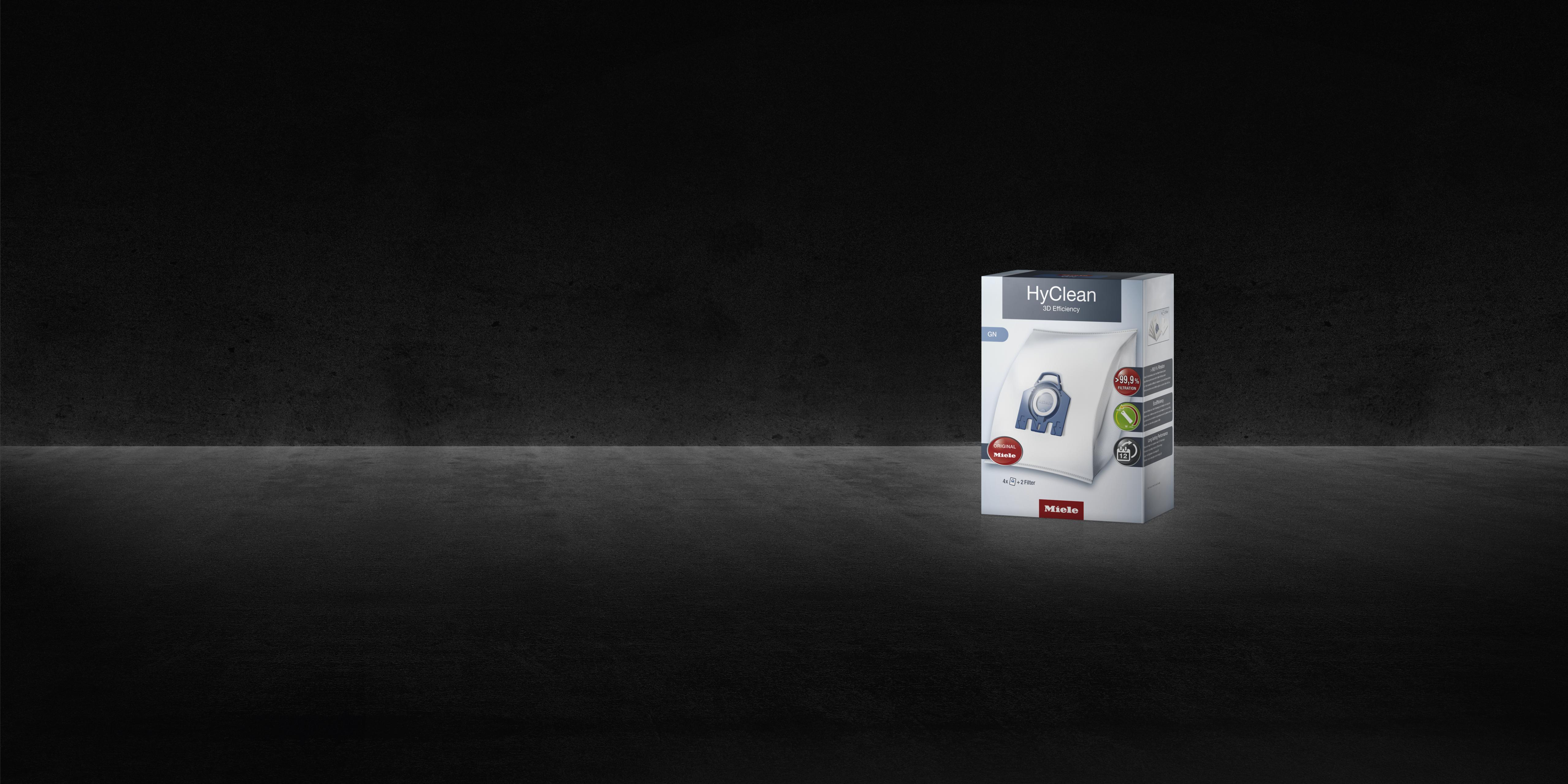 8 x Genuine Miele SB FJM HyClean 3D Efficiency Vacuum Hoover Dust Bags /& Filters