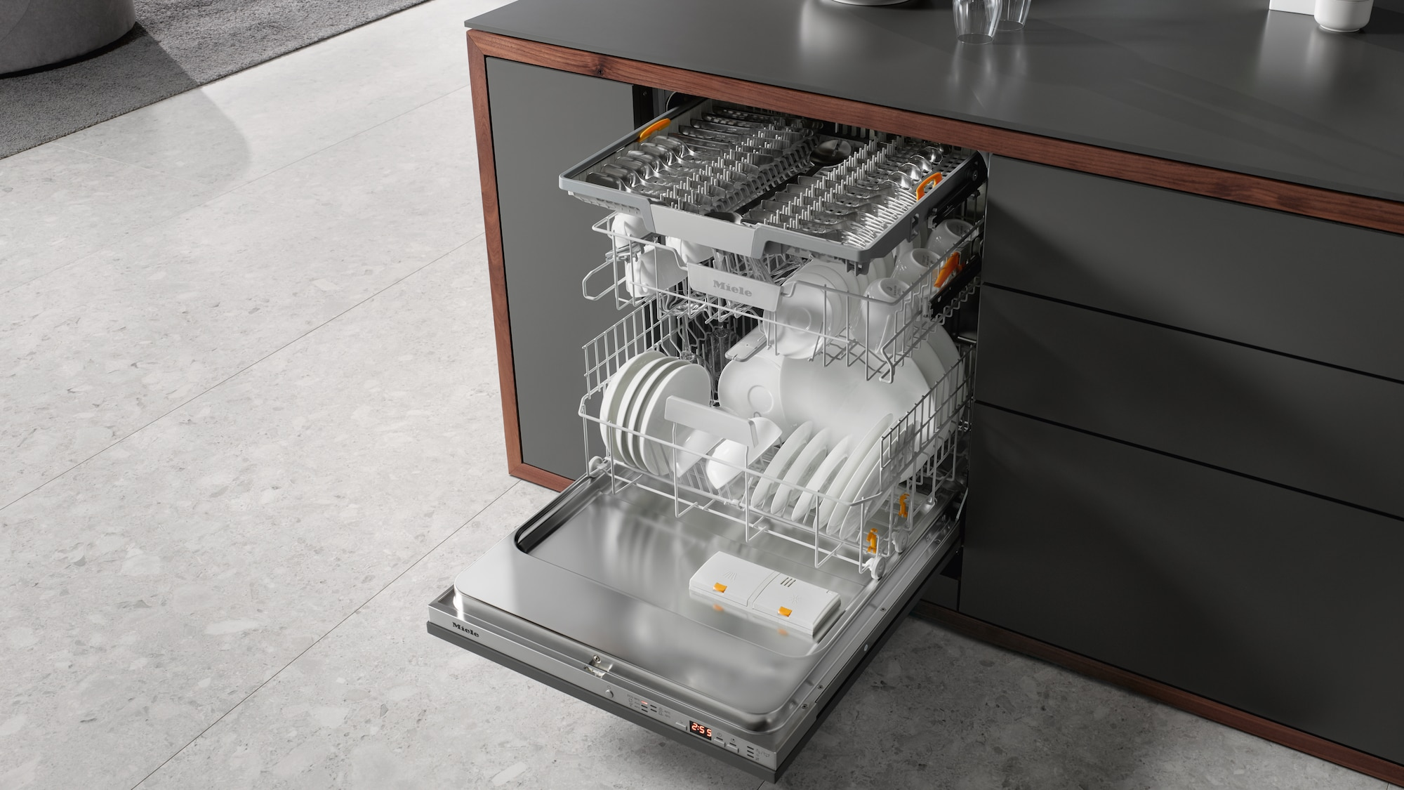 The G 5000 Series of High End Dishwashers Close Up
