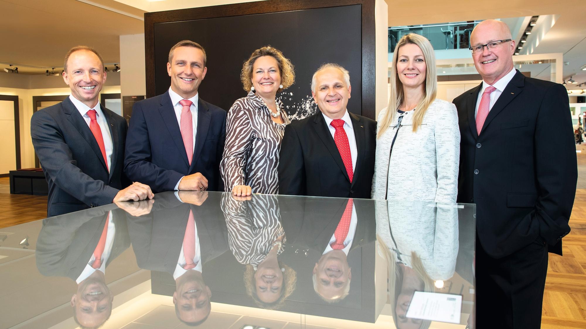 Miele Österreich Geschäftsleitung