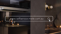 Miele Online self service