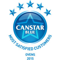 Canstar Blue award winner 2015 for Ovens