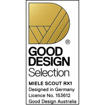 Good Design award for Miele Scout RX1 2015 winner