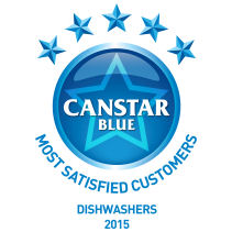 Canstar Blue award for dishwashers 2015