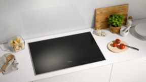Miele Induction cooktop cooking demonstration