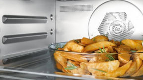 Miele Speed Oven cooking demonstration