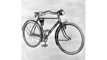Miele Fahrrad Typ Arbeitsdienst