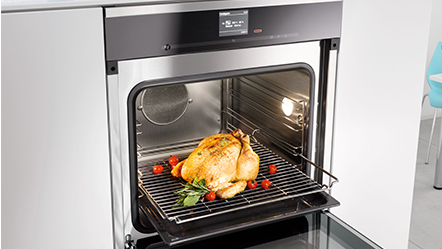 Miele Steam Combination Oven cooking demonstrations
