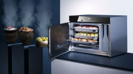 Miele Steam Oven cooking demonstration