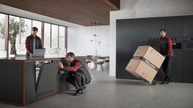 Schedule Miele delivery