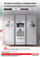 Miele Generation 6000 colour  advertising 2014