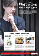 Matt Stone steam oven advertisement 2014