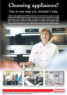 Miele cooking demonstrations advertising 2014