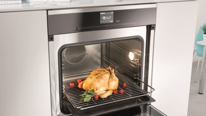 miele new product launch dgc 6660 xxl steam combi oven. Black Bedroom Furniture Sets. Home Design Ideas