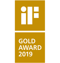 iF product design GOLD award