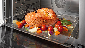 電子レンジ機能付きオーブン