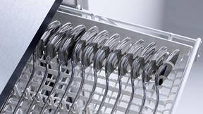 ミーレ食洗機の代名詞 カトラリートレイ