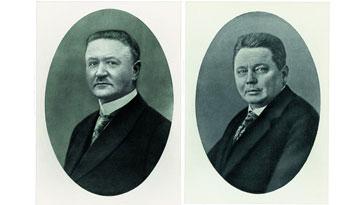 Carl Miele und Reinhard Zinkann