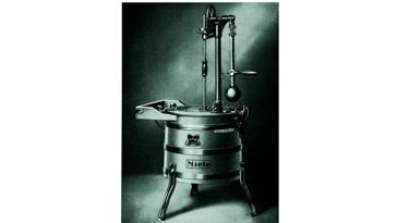 Oberpendel-Waschmaschine Modell A
