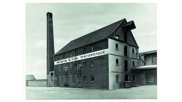 Fertigung von Milchzentrifugen in der Gemeinde Herzebrock nahe Gütersloh