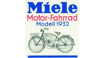 Miele Motor-Fahrrad