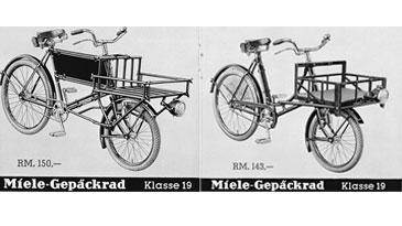 Miele Gepäck-Fahrräder