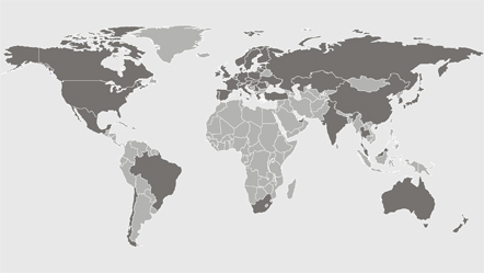 Miele locations worldwide