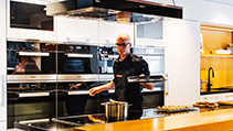 Book a product demonstration at Miele
