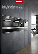 Miele built-in cooking appliances brochure