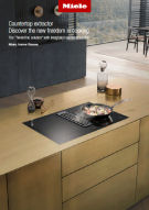 Miele KMDA cooktop extractor Brochure May 2018