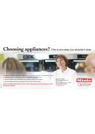 Miele cooking demonstrations strip ad 2014