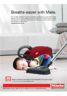 Miele floorcare advertising 2014
