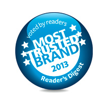 Most Trusted Brand 2013
