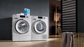W1 washing machine and T1 tumble dryer