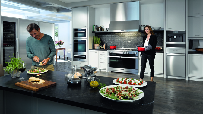 Miele Range Kitchen