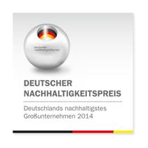 Deutscher Nachhaltigkeitspreis 2014