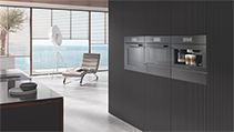 スチームクッカー・ビルトインコーヒーマシンなど7モデルが新たに登場 「Generation 7000」ビルトイン調理機器シリーズ