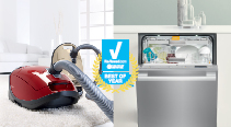Miele Dishwasher and C3 Vacuums