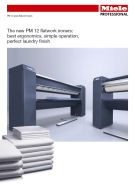 Flatwork ironers brochure