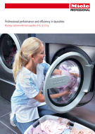 Commercial washing machines overview brochure