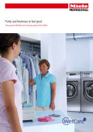 Wet-cleaning brochure